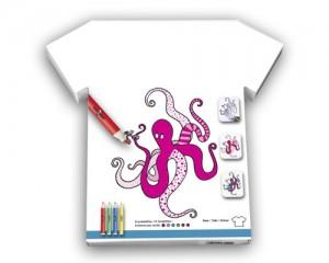 tee shirt enfant à colorier