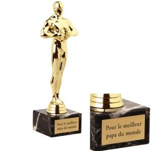 Trophée vainqueur gravé